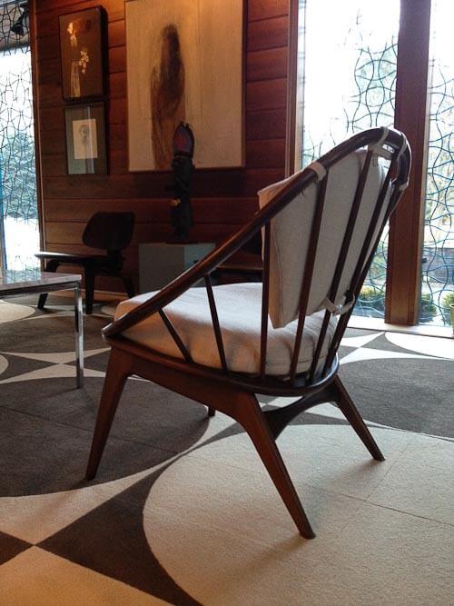 Kofod Larsen hoop chairs