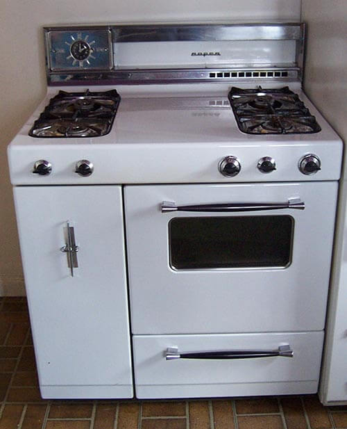 american beauties 25 vintage stoves and refrigerators from 1950s roper stove