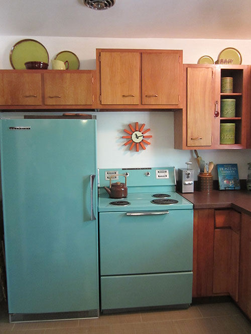 delightful Retro Kitchen Appliances For Sale #5: American Beauties: 25 vintage stoves and refrigerators from readersu0027  kitchens