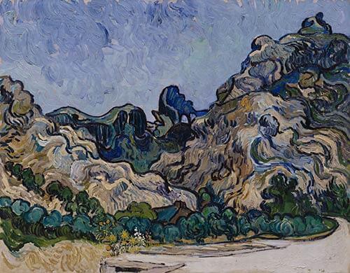 VanGogh.Mountains at Saint Remy
