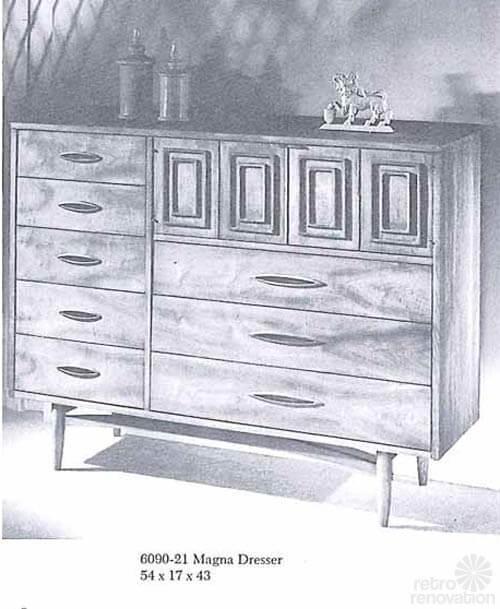 Broyhill-Sculptra-Magna-Dresser