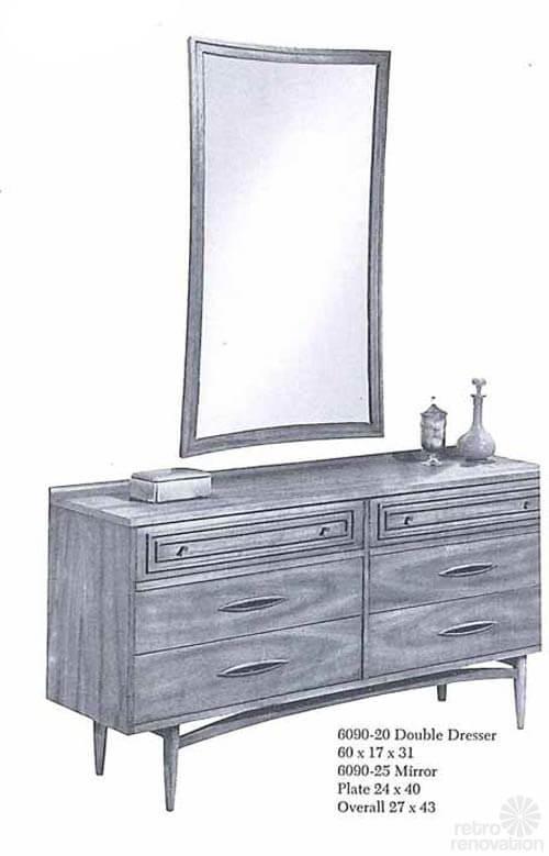 Broyhill_Sculptra-double dresser