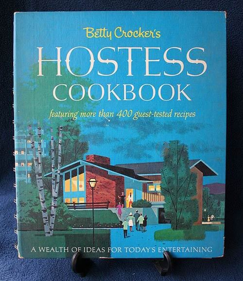 retro betty-crocker-hostess-cookbook