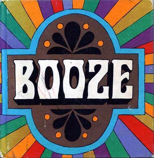 retrp booze-book