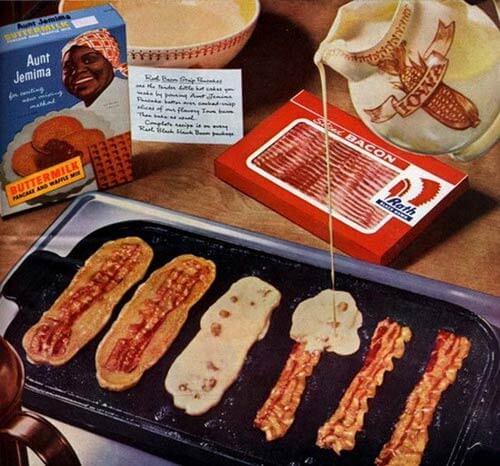 aunt-jeminma bacon cakes