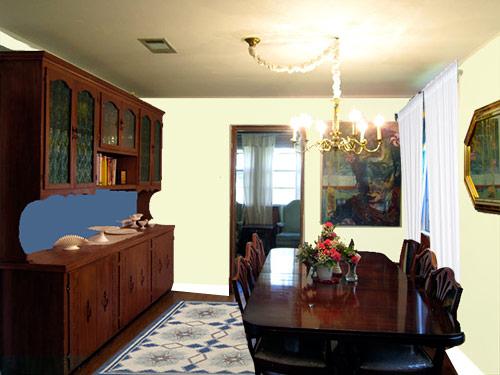 cottage dining-room-redo-retro-hutch
