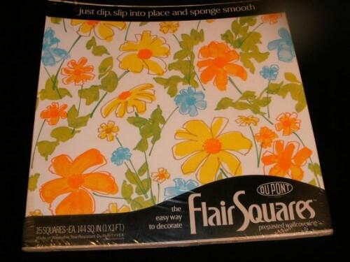 flower power flair squares