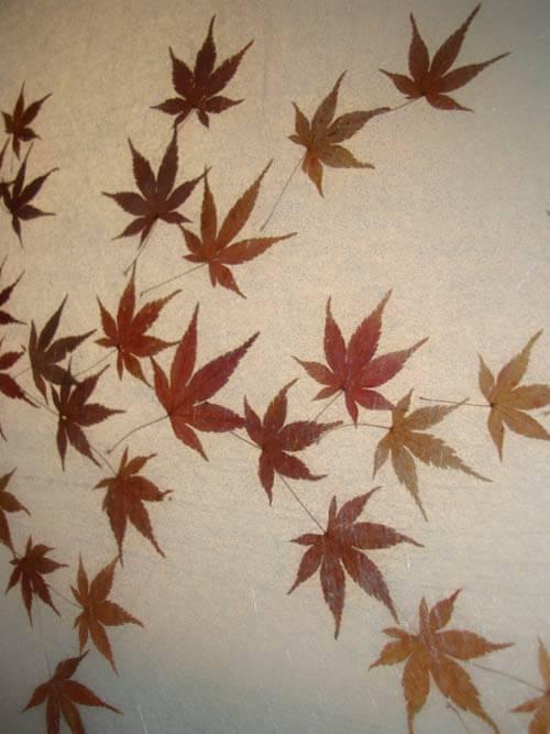 leaves-in-lucite-shower-door