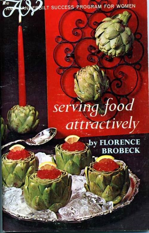 serving-food-attractively vintage cook book