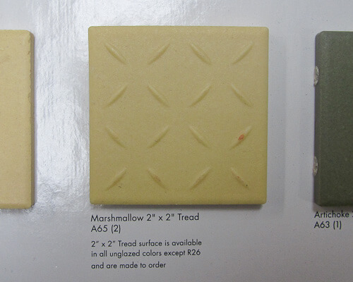tile with treads