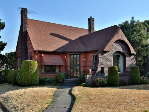 1940 tudor time capsule house in portland oregon