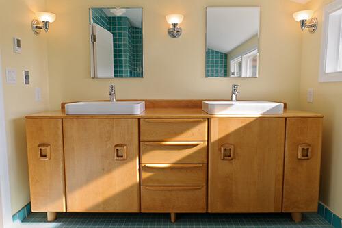 Heywood Wakefield style custom vanity