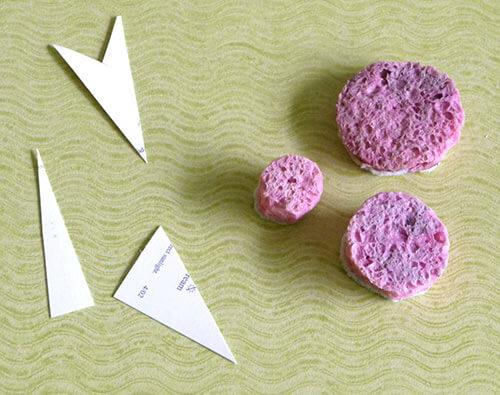 Lora's-starburst-technique materials