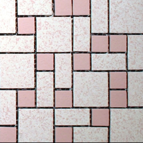 Nemo-tile-Text-pink-unglazed
