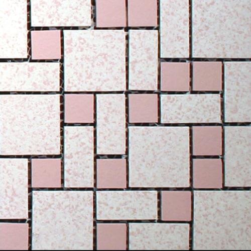 Nemo-tile-Text-pink-unglazed