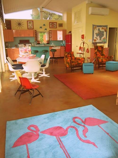 retro-modern-house-flamingo-rug