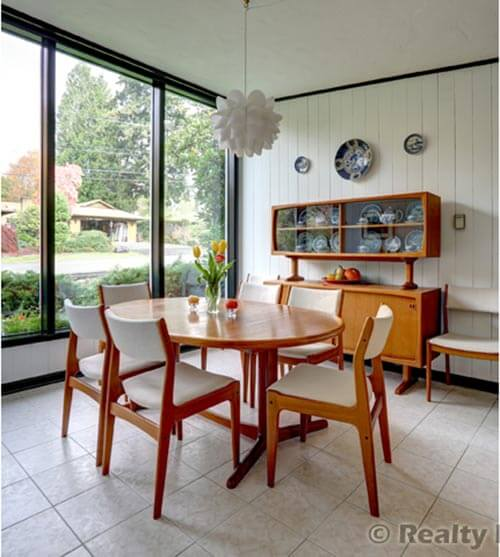 Mid Century Modern Dining Room Ideas Images