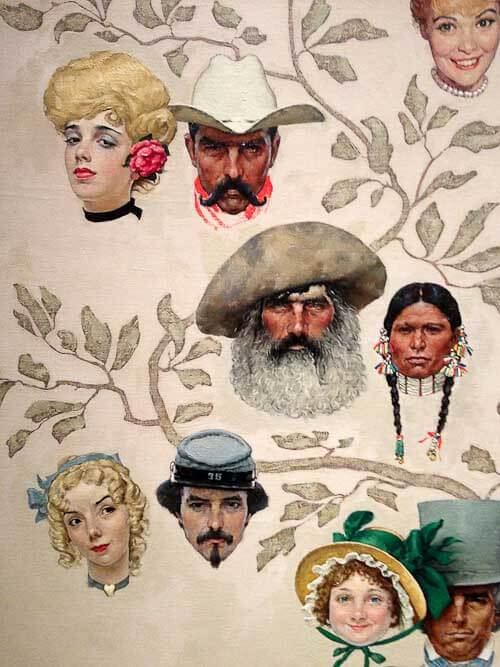 norman rockwell family tree