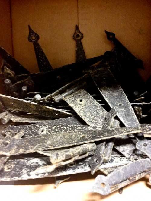 wrought iron cabinet hardware