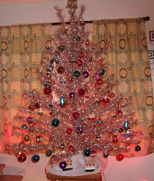 aluminum christmas tree vintage