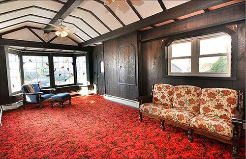 Mid-century-midieval-room