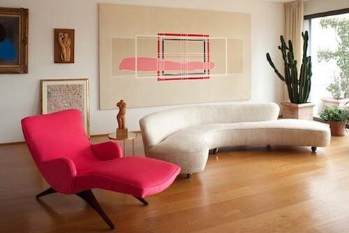 classic kagan freeform sofa