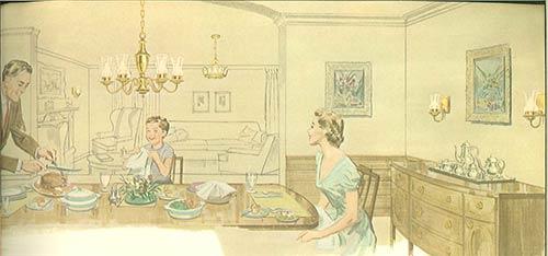 Vintage virden lighting 52 page catalog from 1959 for T s dining virden