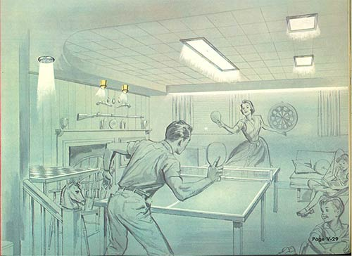 mid-century-rec-room-with-flush-lighting