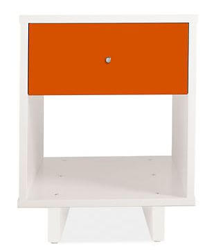 orange night stand
