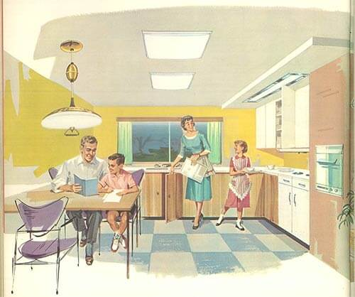 retro-kitchen-with-pull-down-light