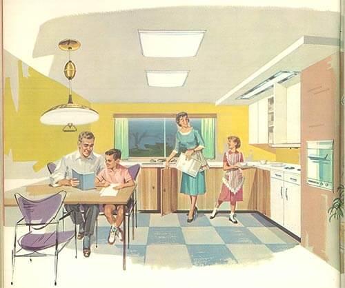 vintage virden lighting   page catalog from   retro renovation, Kitchen design