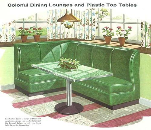 vintage-green-banquette