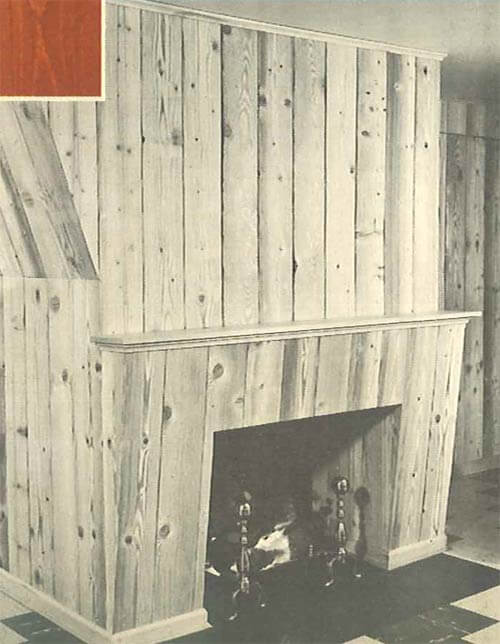 knotty-pine-fireplace-surround-vintage
