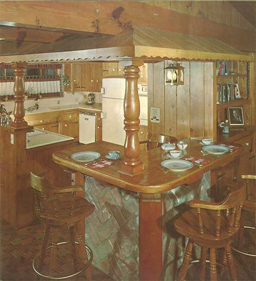 knotty-pine-kitchen-with-bar-seating-vintage