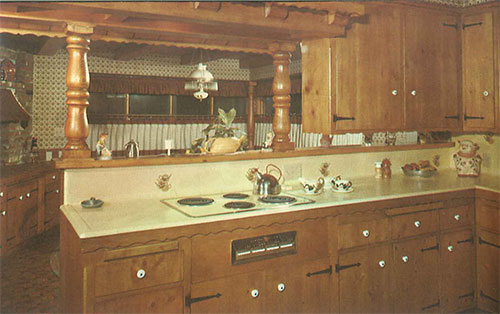 knotty-pine-kitchen-with-trim-on-counter-edge