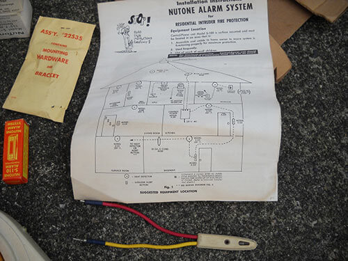 vintage-Nutone-alarm-system-instructions