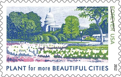 vintage-reissue-stamp-plant-for-beautiful-cities