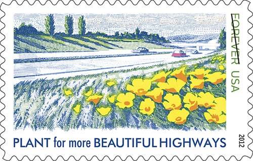 vintage-reissue-stamp-plant-for-beautiful-highways