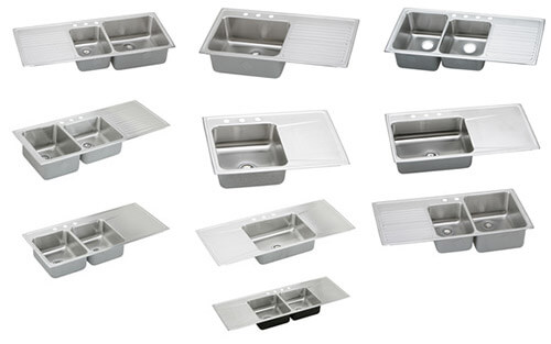 8 places to find drop in stainless steel drainboard sinks - retro