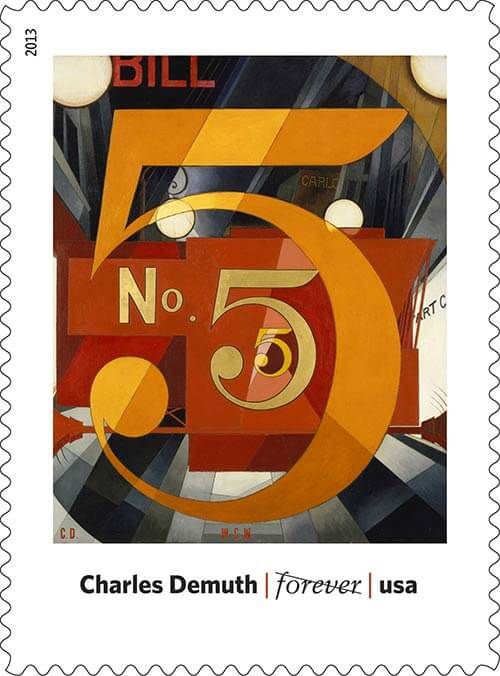 Charles-Demuth-USPS-art-in-america-stamp