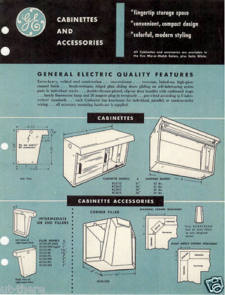 GE cabinettes