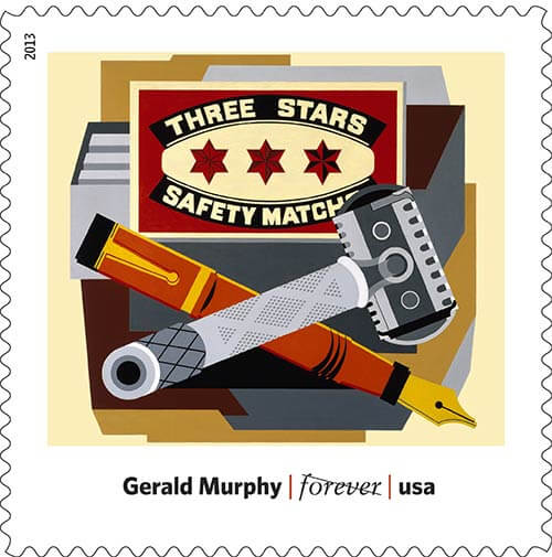Gerald-Murphy-Art-in-America-stamp-USPS