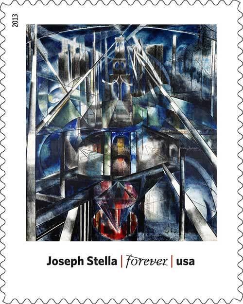 Joseph-Stella-Art-in-America-Stamp-USPS