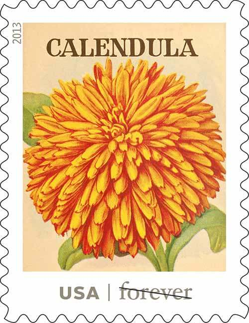 USPS-vintage-seed-packet-stamps-Calendula