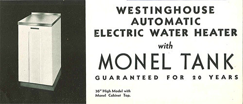 Westinghouse-Hot-water-heater-vintage