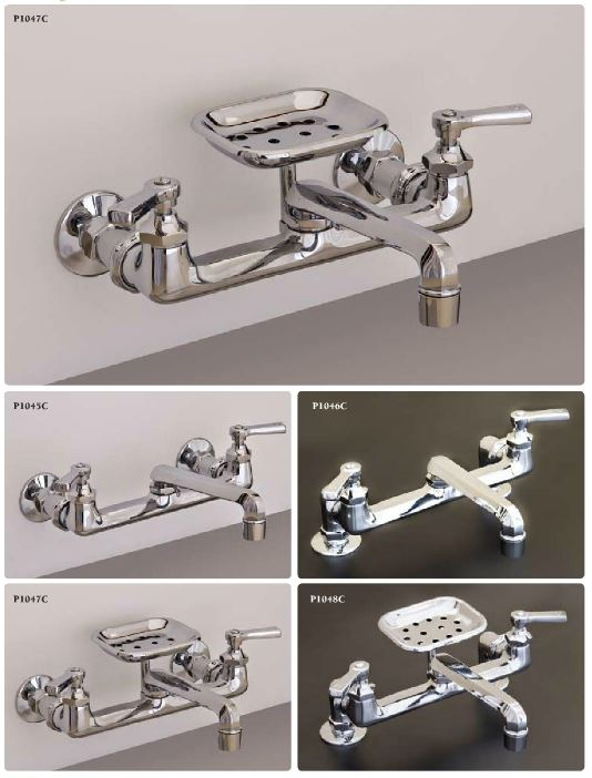 If you have a farmhouse kitchen sink ? and need a wall mount faucet ...