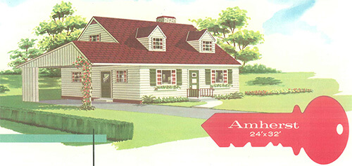 Terrific curb appeal ideas from swift homes 1957 house for 1950s cape cod house plans
