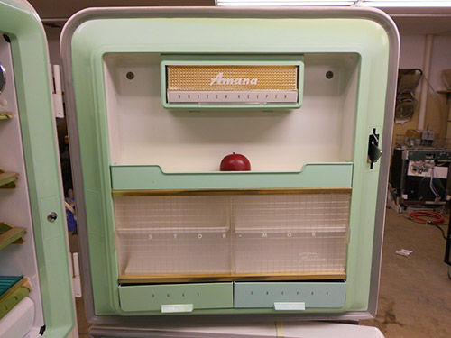 Vintage Refrigerator 1956 Amana Stor More Never Used