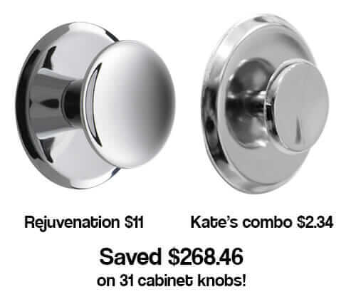 Affordable Kitchen Knobs And Back Plates