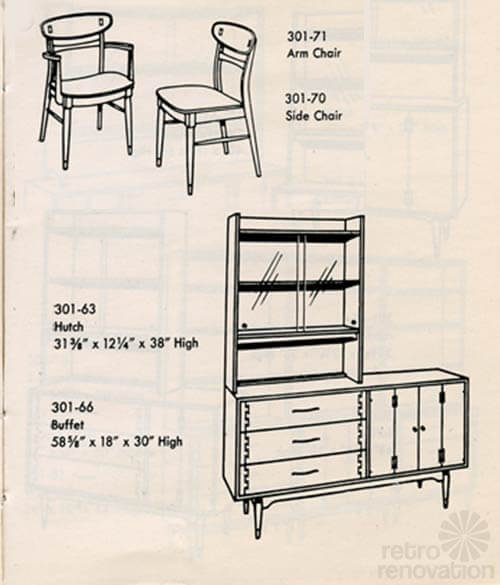 lane-acclaim-chairs-and-hutch